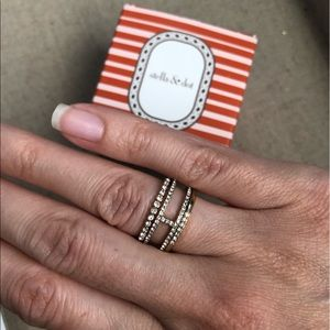 Stella & Dot Jewelry - Imperial Stacking Rimgs